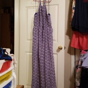 Jessica Simpson floor length sun dress. Size L